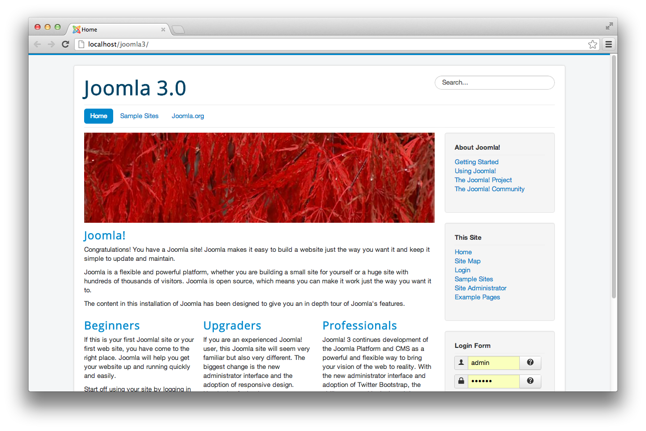 Joomla protostar how to change your joomla 3 1 site for Protostar joomla template download